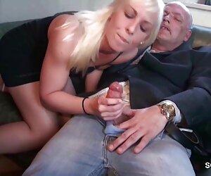 Blonde russische gebeugt nach massage Beine und deutsche pornofilme mit reifen frauen lässt den Kerl härtet sich mit seinem Krebs